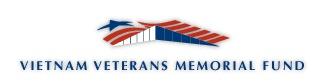 link to Robert's uncle on the Vietnam Veterans Memorial
