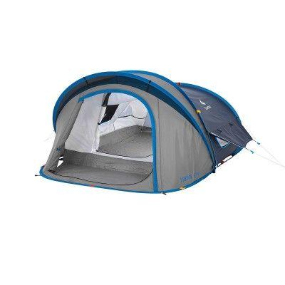 All Tents Camping - 2 Seconds XL Air II Pop Up Tent - 2 Man Quechua - Tents http://campingtentlover.com/best-backpacking-camping-tents/