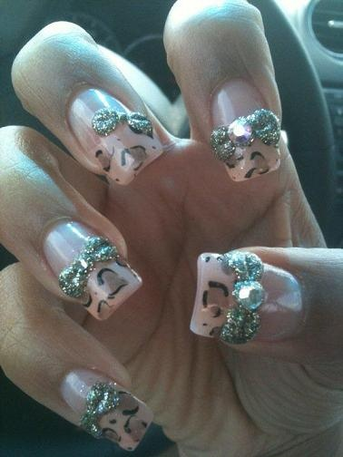 Absolutely love nails like this <3: Love Nails, Nails Art, Nails Fans, Nails Contest, Nude Cheetahs, Facebook Fans, Fans Submit, Bitchy Nails, Bitchin Nails