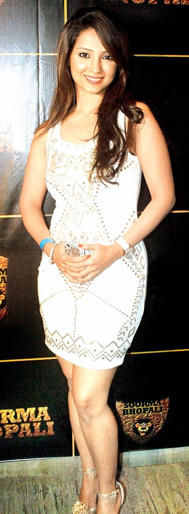 Ada Khan at the official launch of the BCL team Soorma Bhopali's team jersey. #Style #Fashion #Beauty #Bollywood #BCL