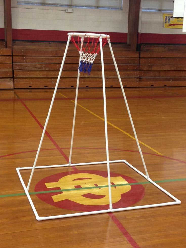 PVC Home made goal by @MikeMorrisPE #physed