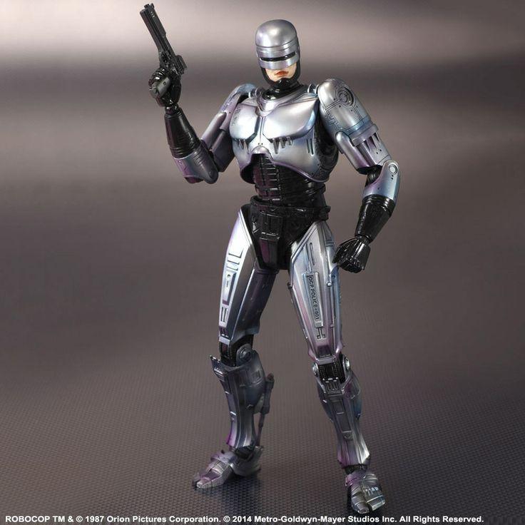 Figura RoboCop 24 cm. Versión año 1987. Play Arts Kai. Square-Enix