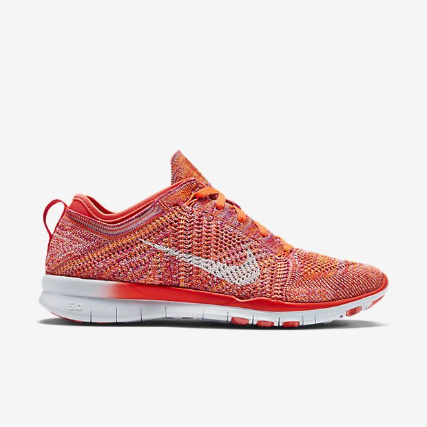 NIB*Nike*Free TR 5 Flyknit Sneaker*Bright Crimson*5.5-10
