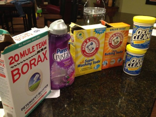 i finally caved. here are my adventures in laundry soap.  the third boob: diy: making your own laundry detergent