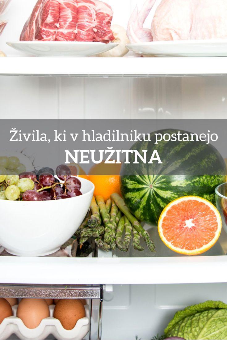 Nekatera hrana se v hladilniku pokvari in postane nevarna za uživanje.  Če imate v hladilniku naslednja živila, jih čim prej dajte ven in jih shranite drugje!
