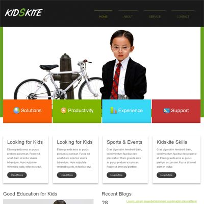 Responsive school website templates images templates design ideas 16 best education school responsive mobile web templates images on kids kite web and mobile template pronofoot35fo Images