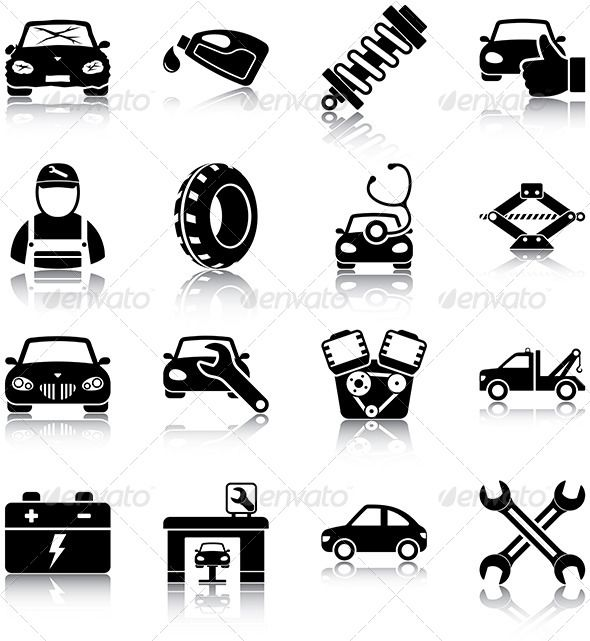 13 Best Car Icon Images On Pinterest Icons Icon Set And Icon Design