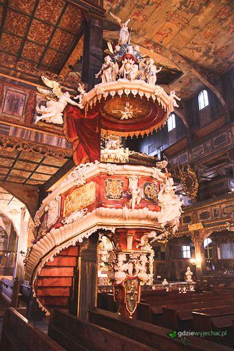 Kościół Pokoju w Świdnicy. więcej -> http://gdziewyjechac.pl/30671/polska-perelka-unesco-kosciol-pokoju-w-swidnicy.html