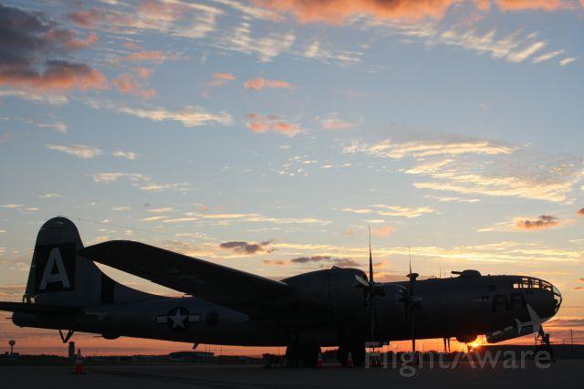 Boeing B-29 Superfortress (N529B) B-29 FIFI Platinum Aviation Ramp at Appleton, WI EAA 2015. 305 of N529B 573 of B29 184 at KATW