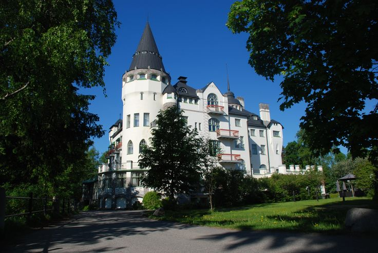 #Imatra, #Finland, Imatran Valtionhotelli by Maija S.
