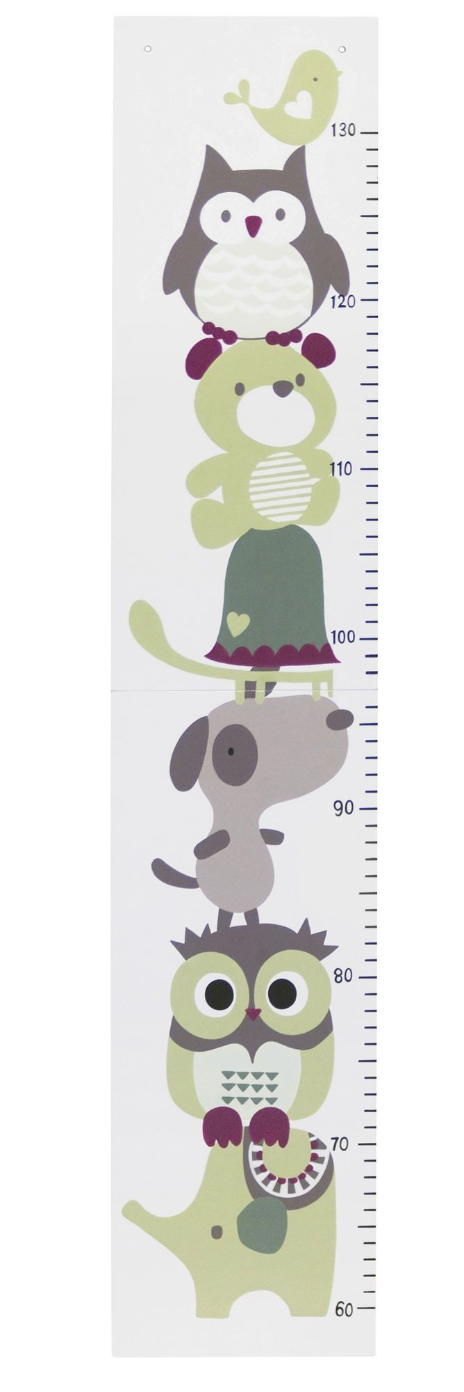 <b>Kids Concept Mätsticka Pumpkin Vit</b> är en mätsticka för barn att hänga på väggen från Kids Concepts populära barnserie Pumpkin. <br>Mätstickan som är tillverkad i trä pryds av ugglan och hans vänner och mäter barnets längd mellan 60-130 cm. Stickan är ett pedagogiskt sätt för barnet att förstå längd och mått, ett kul sätt att dokumentera ditt barns utveckling och en fin väggdekoration för att sätta personlig prägel i barnrummet. Vill man inte ha mätstickan upphäng...