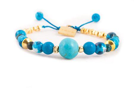 Blue Zana bracelet