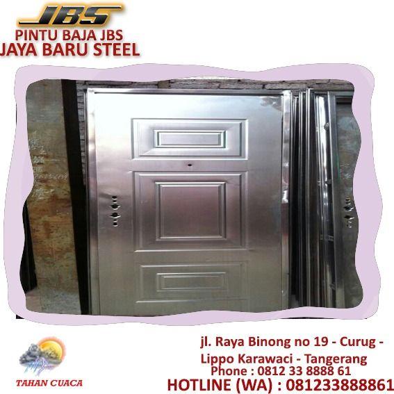 081233888861 Jbs Model Pintu Plat Baja Jakarta Pintu Sorong Baja Jakarta Spesifikasi Steel Door Keamanan Rumah Pintu Ruko