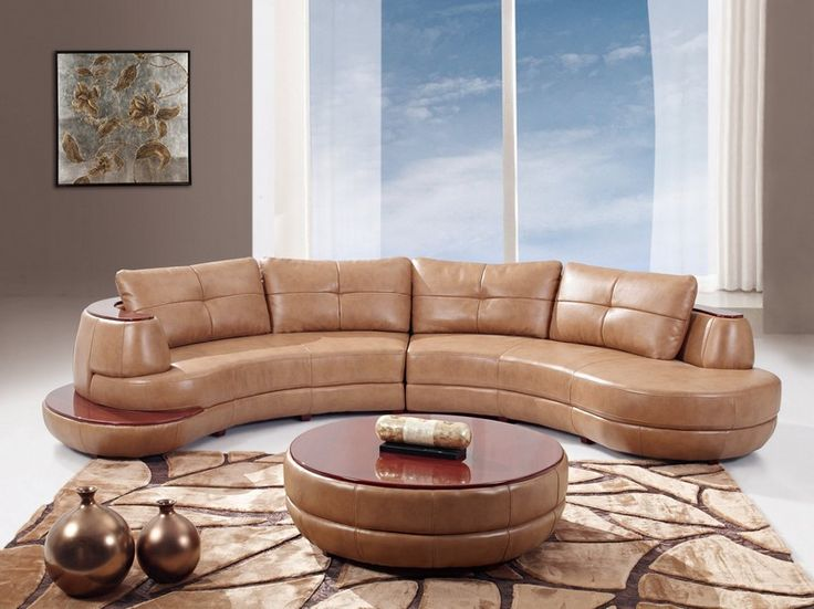 Global Furniture USA Bonded Leather Sectional Sofa Honey Contemporary Style That Goes Well With Any Dcor From The Collection
