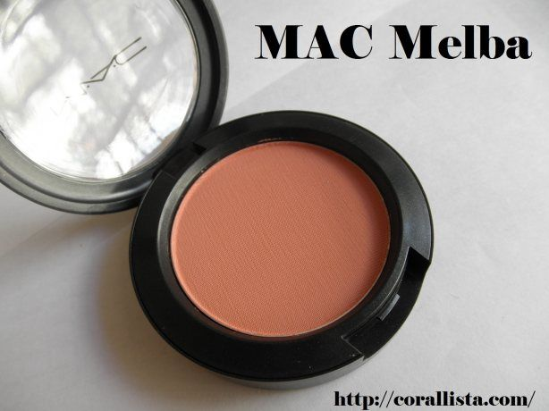 MAC Blush in Melba | Products I Love | Pinterest
