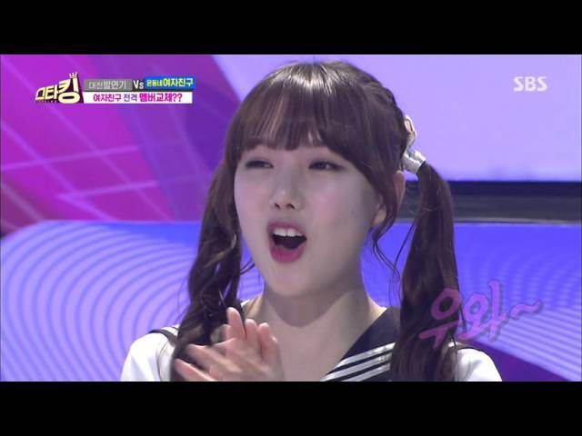 """Guy dances perfectly along with kpop girl-group """"Gfriend"""""""