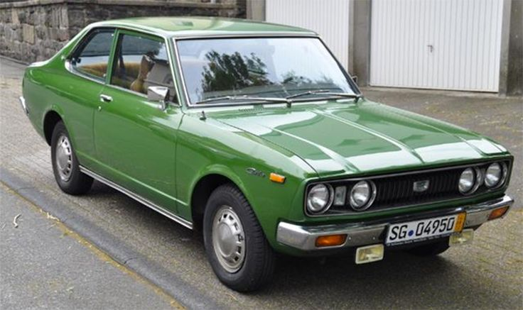1976 Toyota Carina Maintenance/restoration of old/vintage vehicles: the material for new cogs/casters/gears/pads could be cast polyamide which I (Cast polyamide) can produce. My contact: tatjana.alic14@gmail.com
