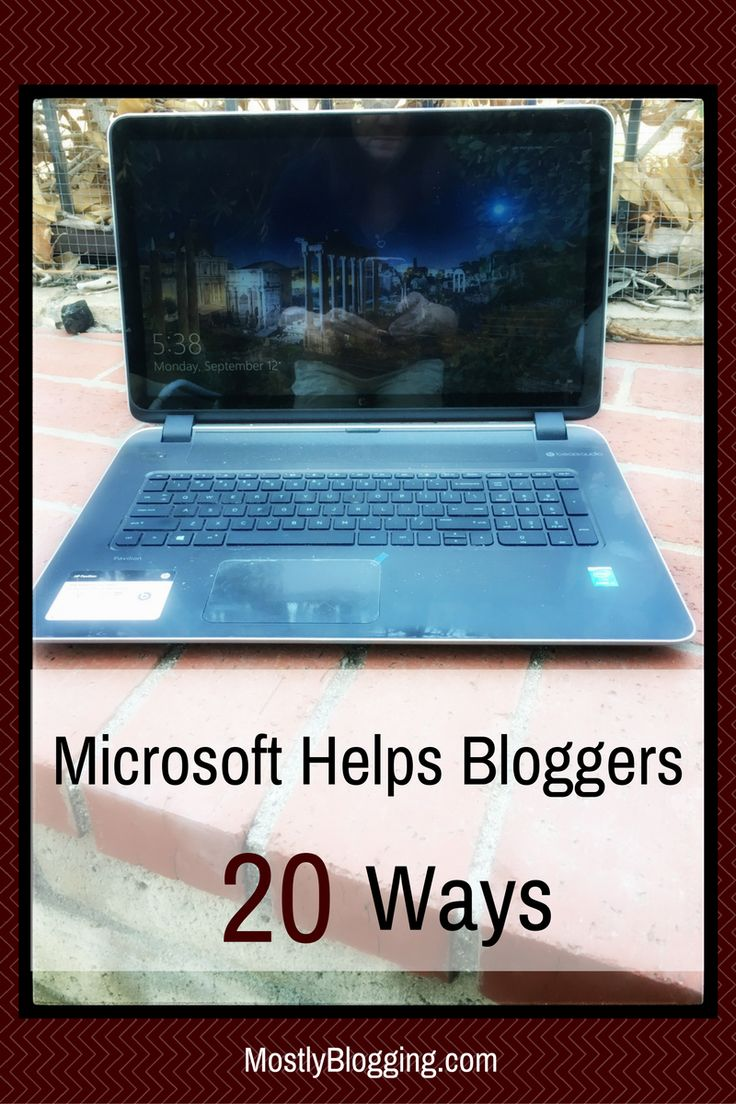 Are you familiar with #Microsoft's free #BloggingTools to help save time #blogging? #Tech