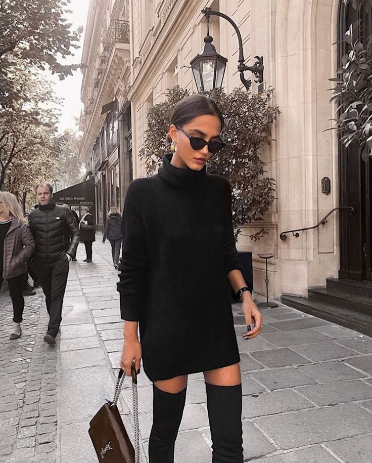 25+ tolle Outfit Ideen in Schwarz