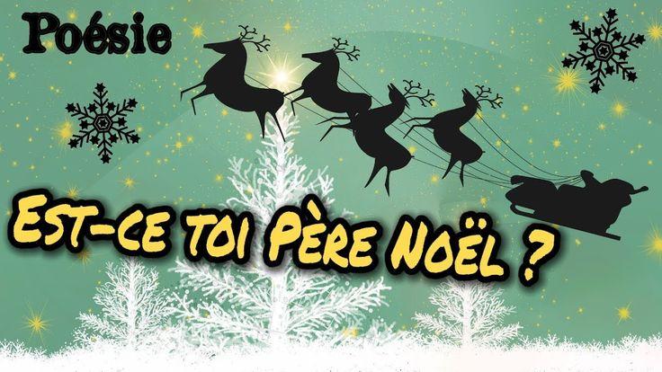 Poésie 🎅 Est-ce toi Père Noël ? de Pierre Coran 🎅