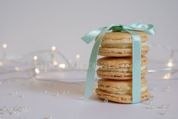INSTANT DOWNLOAD Food Photograph Champagne Macarons by apookicreation, €2.20