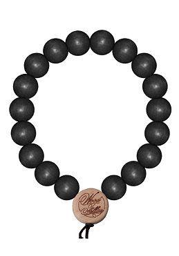 #planetsports MasterDis - Wood Fellas Deluxe Pearl Bracelet black