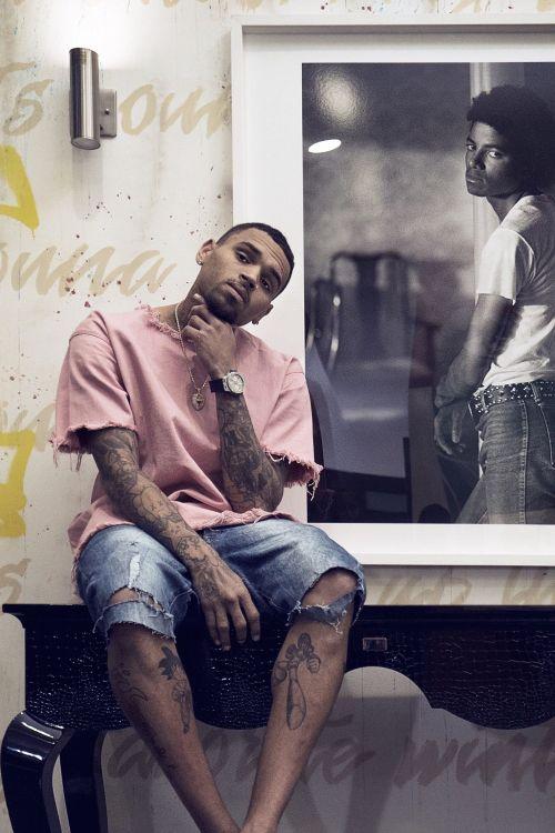 Chris Brown Wardrobe October 2017