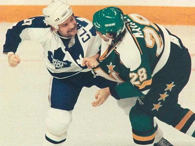Wendel Clark...time for another beat down!!