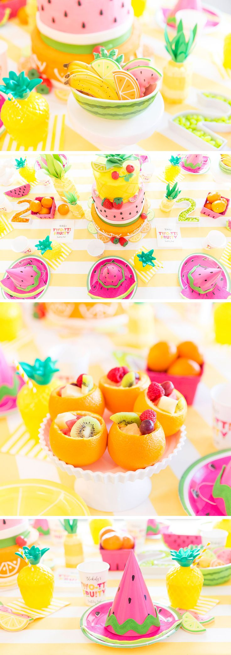 Fruity Birthday Party! - Forget the kids. I want this for my birthday!!