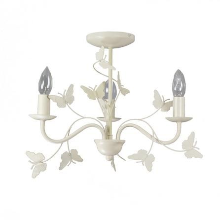 Vintage Butterfly 3 Light Fitting | Dunelm