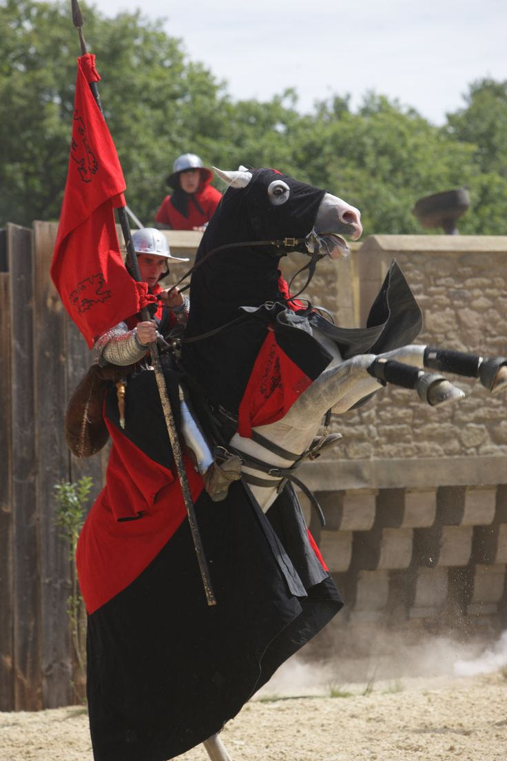 Le Secret de la Lance - Puy du Fou #chevalier #cavalier #lancier #horse #cheval #knight #Puydufou #moyenage #joute #PuyduFou