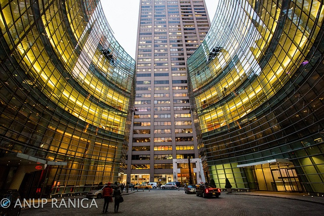 Bloomberg Centre, NYC