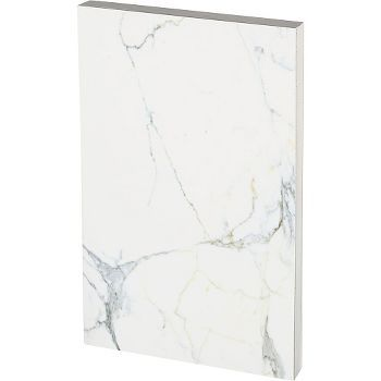 This modern marble journal will be great for taking notes and tracking your to-do lists. Features 248 sheets lined, coptic stitch-binding, edge printing, and lays completely flat when open.<br><br>Siz