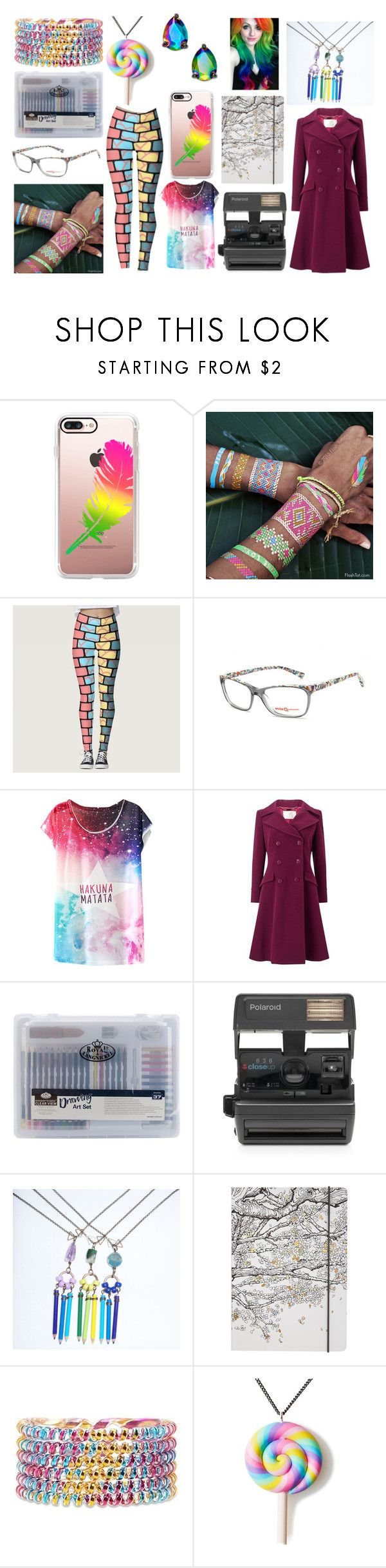Tessa Winter Outfit by ariagrimesqoutev on Polyvore featuring beauty, Flash Tattoos, Casetify, Forever 21, Etnia Barcelona, Kate Spade, Jacques Vert, Impossible and Go Stationery