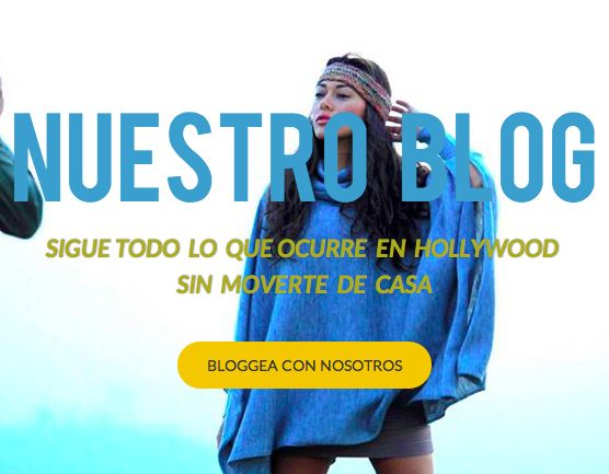 Nuestro BLOG os traerá todas las novedades que ocurren en Los Angeles sobre moda, famosos, eventos, noticias que ni siquiera llegan a España.