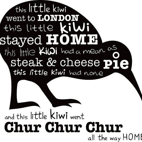 This little kiwi...