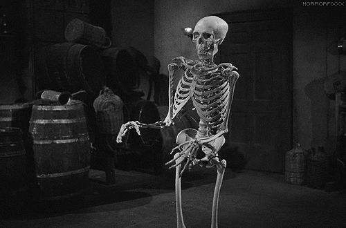 black and white sexy scary artistic gifs    house on haunted hill 1959 gifs…