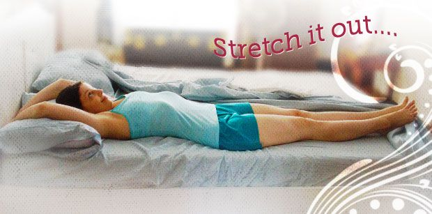 Yoga Yourself Out of Bed - yoga for waking up plus other tips to make starting the day easier for us non-morning people