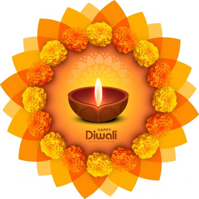 Happy Diwali Decorative Flowers Card Celebration Background Vec Abstract Light Diwali Png And Vector With Transparent Background For Free Download Happy Diwali Images Happy Diwali Diwali Wishes