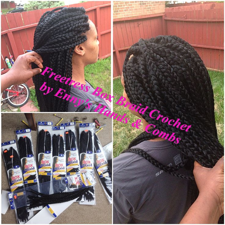 Diy Crochet Box Braids : Crochet braids