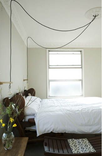 There is so much beauty in simplicity. Bedroom wherever this is: You're doing it right.
