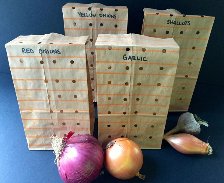 You've probably experienced your garlic growing a little green sprout out of the top of it and your onions getting moldy. While it's a good thing when garlic sprouts if you're planning on planting it, that can be a problem when you are planning on eating it.