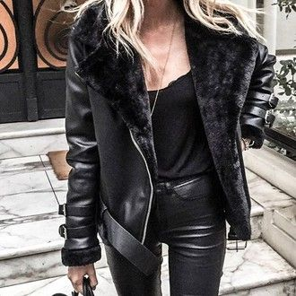10 best ideas about Shearling Jacket on Pinterest | Shearling coat