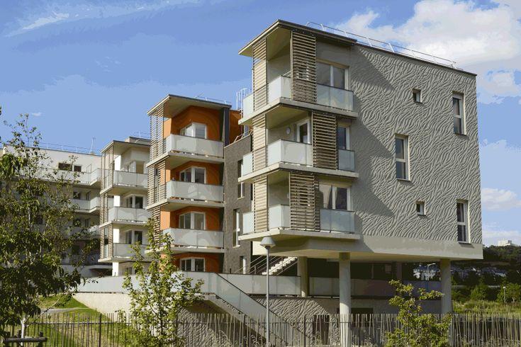 Rouen 82 logements architecte giovanni scandola livraison juillet 2014