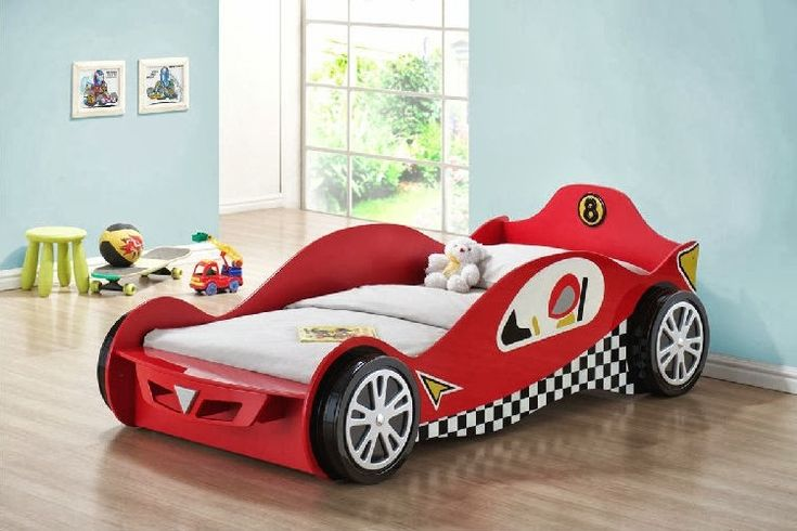 Painting of Creative Race Car Beds For Toddlers