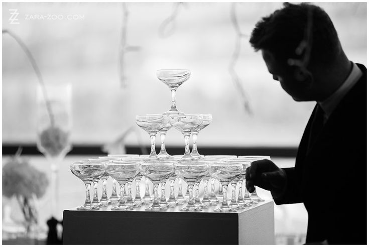 Here's some #wedding #inspiration for you: #ChampagneTower instead of a wedding cake!  This wedding was coordinated by the Aleit Group.  See more of this wedding on our blog http://www.zara-zoo.com/blog/cape-town-destination-wedding/