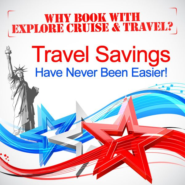 Learn how to earn and redeem travel savings and book the most affordable trip possible with help from Explore Cruise & Travel's Certified Vacation Consultants.