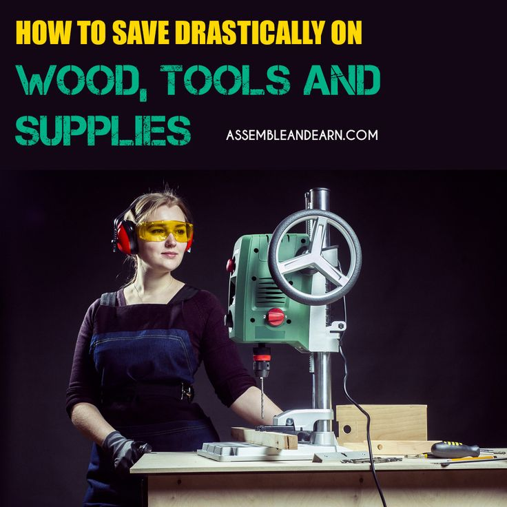 Great tips to save a LOT of money on most expensive aspects of woodworking like buying woodworking tools, wood and woodworking supplies.