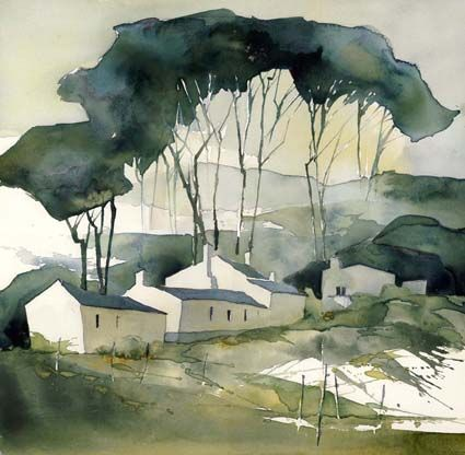 Anna Törnquist #watercolor jd