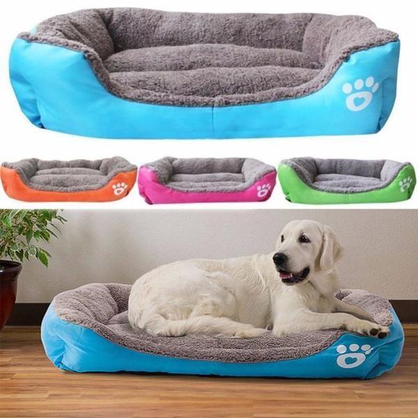 Pet Dog Bed Warming Dog House Soft Material Pet Nest Dog